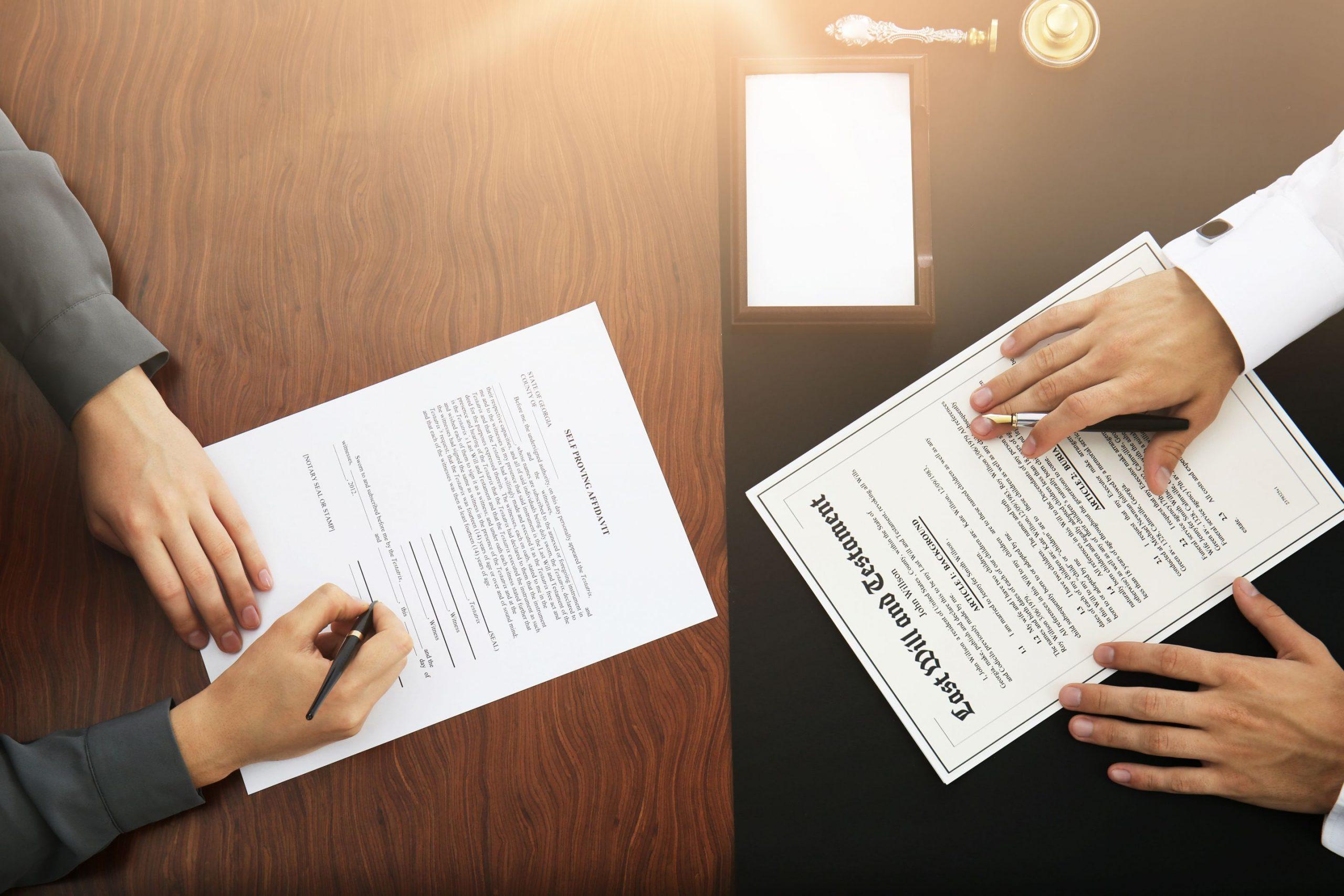 modifier testament codicilles notaire