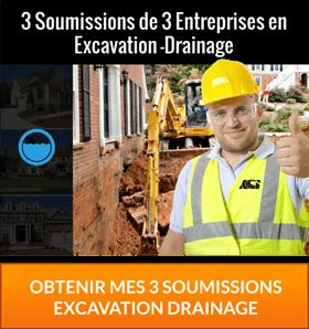 Excavation et drainage