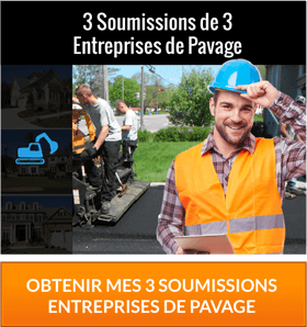 Soumission Pavage