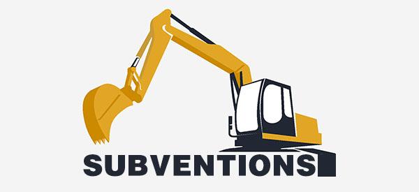 Un projet d'excavation aidé par des subventions du gouvernement