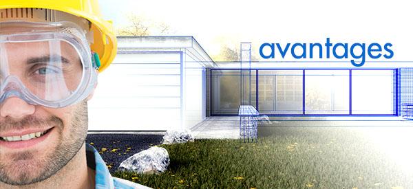 L'agrandissement d'une maison aura des avantages certains.