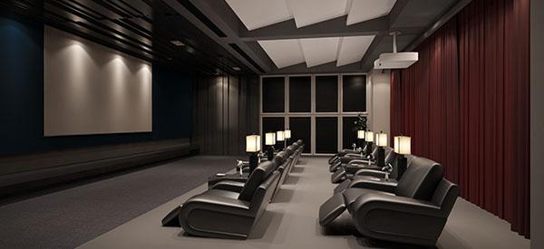 Voici comment construire une salle de cinéma chez vous.