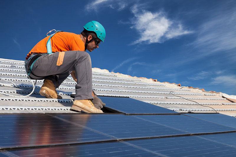 prix de l'installation de panneaux solaires
