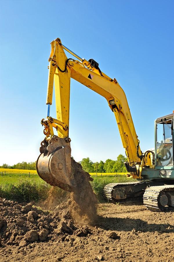 Coût pour terrassement par une compagnie d'excavation