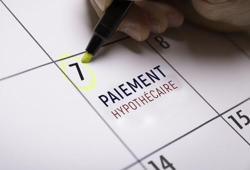 Frequence paiements hypothecaires