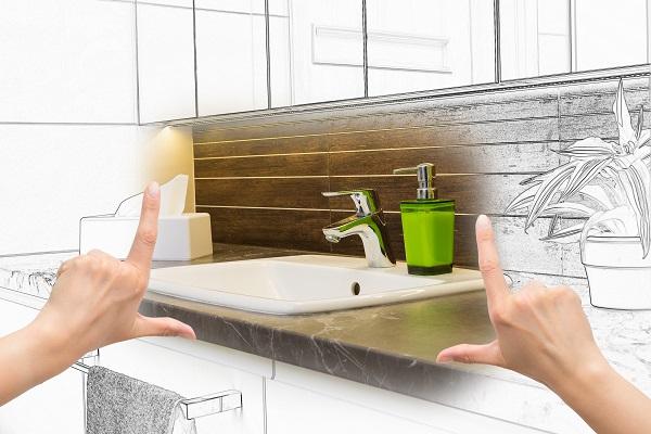 coût pour rénovation du design de sa salle de bain
