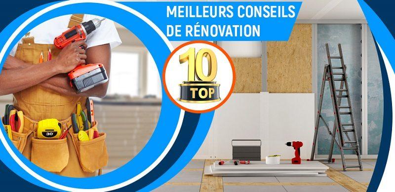 meilleurs conseils renovation maison