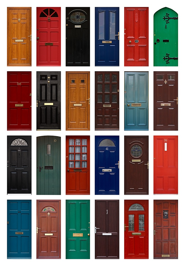 acheter portes exterieures ou porte d'entrée