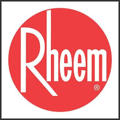 Pour une excellente qualité, tournez-vous vers la société Rheem pour votre chauffe-eau.