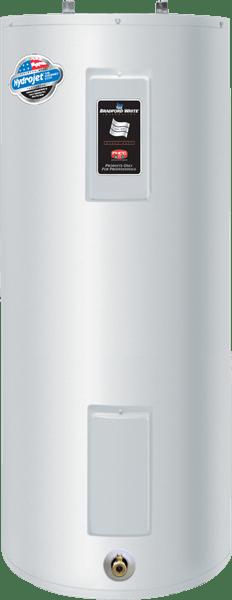 Le Bradford White M-2-50T8DS, un chauffe-eau à 40 gallons électrique suffisamment puissant pour faire partie du palmarès des meilleurs chauffe-eau en 2018 au Québec.