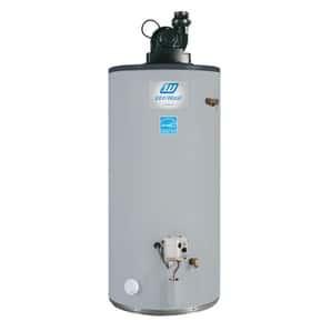 Un chauffe-eau écoénergétique, le John Wood 100279318 au propane à ventilation forcée pour réchauffer votre eau en toute quiétude.