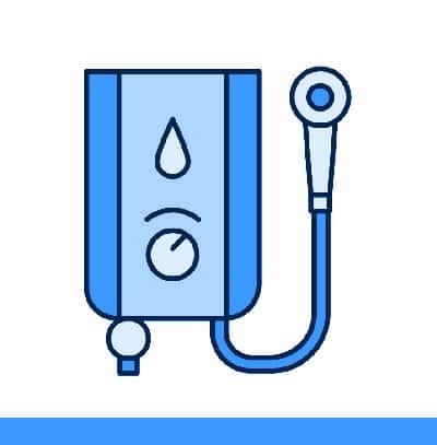 Voyez la définition d'un chauffe-eau sans réservoir.