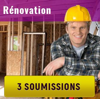 Soumissions de Entrepreneurs en Rénovation