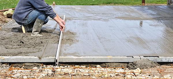 Voici un exemple d'extension sur dalle de béton et son prix.