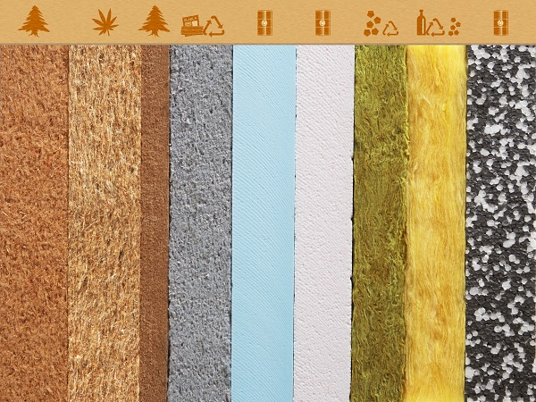 matériaux d'isolation thermique pour maison, par l'intérieur ou l'extérieur