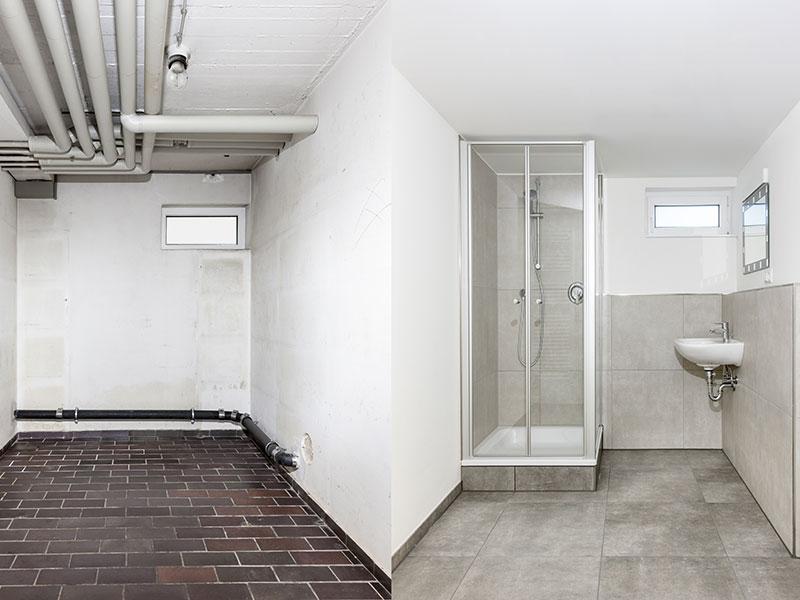 Les prix à s'attendre pour une salle de bain dans votre sous-sol avec Soumissions Maison