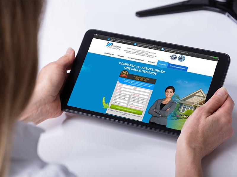 Découvrez comment sauver sur le prix d'une assurance vie avec la plateforme soumissions maison.