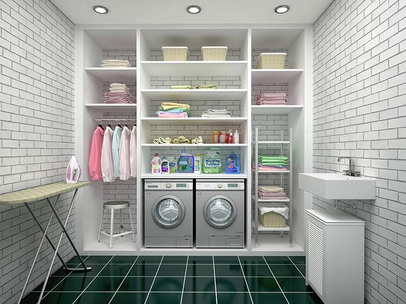 L'espace de rangement est très important, laissez-vous de la place pour la finition de votre sous-sol pour cet élément!