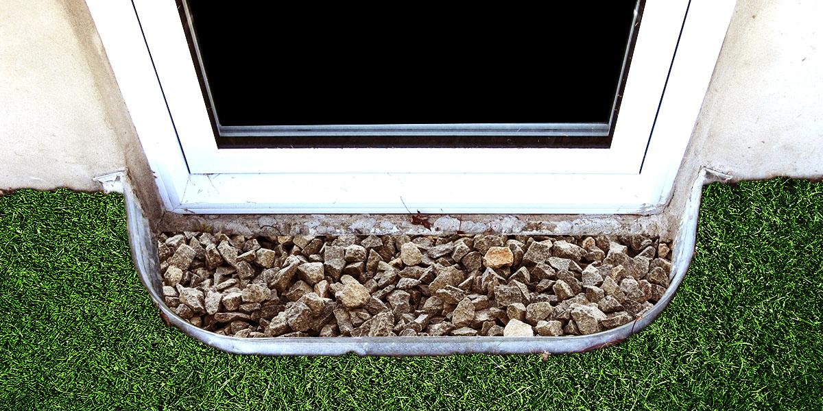 Gérez efficacement les eaux de surface par l'installation d'une margelle de fenêtre