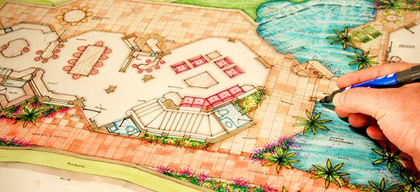 L'architecte paysagiste est aux jardins et parcs ce que l'architecte est aux immeubles.