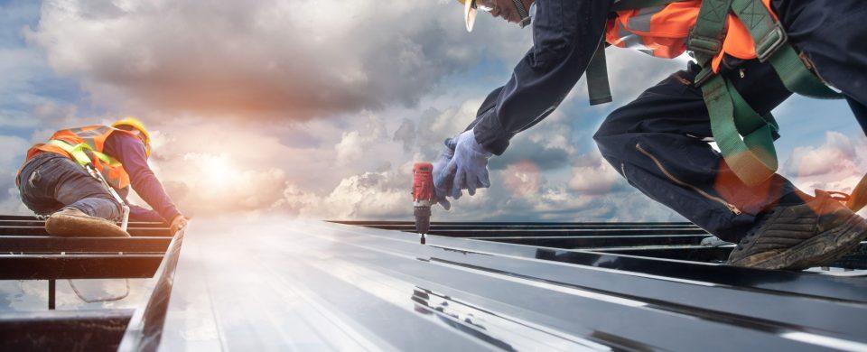 prix installation toit metal
